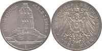 Deutschland : 3 Mark 100 Jahre Völkerschlacht bei Leipzig  1913 vz.