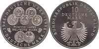 Deutschland : 10 DM 50 Jahre Deutsche Mark 1998 vz/Stgl.