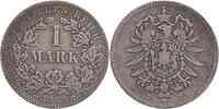 Deutschland : 1 Mark  -selten- 1873 s/ss.