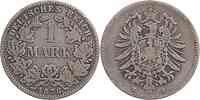 Deutschland : 1 Mark   1878 s.