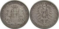 Deutschland : 2 Mark   1876 s.