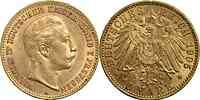Deutschland : 10 Mark Wilhelm II. winz. Rs. 1905 vz.