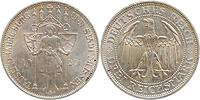 Deutschland : 3 Reichsmark Meißen  1929 vz/Stgl.