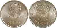 Deutschland : 3 Reichsmark Goethe  1932 vz.