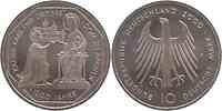 Deutschland : 10 DM Karl d. Große / Dom zu Aachen  2000 vz/Stgl.