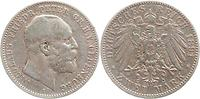 Deutschland : 2 Mark Nicolaus Friedrich Peter  1891 f.ss