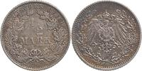 Deutschland : 1/2 Mark 1907 ss.