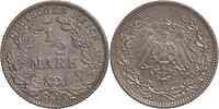 Deutschland : 1/2 Mark   1913 ss/vz.
