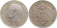 Deutschland : 2 Mark Wilhelm Ernst  1901 ss/vz.