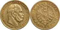 Deutschland : 10 Mark Wilhelm I.  1875 ss/vz.