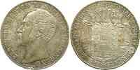 Deutschland : 1 Doppeltaler Bernhard winz. Rs. 1854 vz/Stgl.