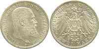 Deutschland : 2 Mark Wilhelm II.  1908 vz/Stgl.