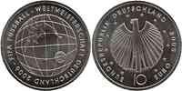 Deutschland : 10 Euro III. Ausgabe FIFA Fußball WM Deutschland  2006 Buchstabe unserer Wahl  2005 bfr