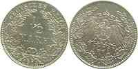 Deutschland : 1/2 Mark 1914 vz/Stgl.