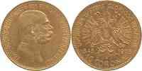 Österreich : 10 Kronen Regierungsjubiläum  1908 ss/vz.