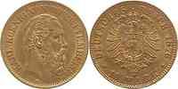 Deutschland : 10 Mark Karl 1876 vz.