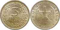 Deutschland : 3 Reichsmark  patina 1932 vz.