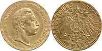 Deutschland : 10 Mark Wilhelm II. 1898 ss/vz.