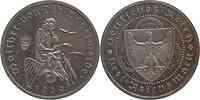 Deutschland : 3 Reichsmark Vogelweide minimal berieben 1930 PP