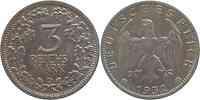Deutschland : 3 Reichsmark   1932 vz.