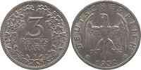 Deutschland : 3 Reichsmark  -selten- 1932 vz.