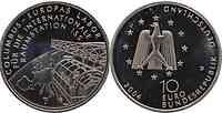 Deutschland : 10 Euro ISS (Raumstation)  2004 vz/Stgl.