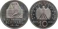 Deutschland : 10 Euro Karl Friedrich Schinkel  2006 vz/Stgl.