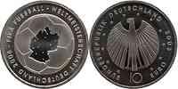 Deutschland : 10 Euro I. Ausgabe FIFA Fußball WM Deutschland 2006 Buchstabe unserer Wahl  2003 vz/Stgl.