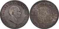 Deutschland : 1 Taler Ernst August winz. Kratzer, -selten- 1838 vz/Stgl.