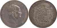 Deutschland : 1 Doppeltaler Friedrich Wilhelm IV. patina 1854 vz.