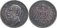 Deutschland : 3 Mark Friedrich II. patina 1911 ss/vz.