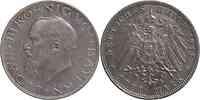 Deutschland : 3 Mark Ludwig III. patina 1914 vz.