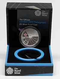 Großbritannien : 5 Pfund Paralympics  2012 PP