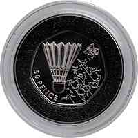 Großbritannien : 50 Pence Badminton 4/29  2011 PP
