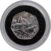 Großbritannien : 50 Pence Kanufahren 8/29  2011 PP