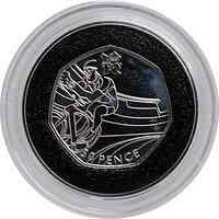 Großbritannien : 50 Pence Radfahren 9/29  2011 PP