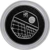 Großbritannien : 50 Pence Tennis 24/29  2011 PP