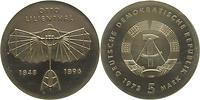 DDR : 5 Mark Otto Lilienthal  1973 Stgl.