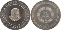 DDR : 10 Mark Caspar David Friedrich 1974 Stgl.