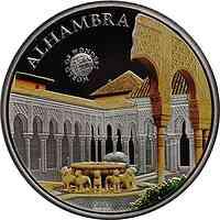 Palau Islands : 5 Dollar Welt der Wunder - Alhambra, farbig  2011 PP