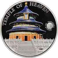 Palau Islands : 5 Dollar Welt der Wunder - Temple of Heaven, farbig  2011 PP