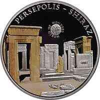Palau Islands : 5 Dollar Welt der Wunder - Persepolis, farbig  2011 PP