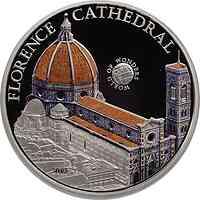 Palau Islands : 5 Dollar Welt der Wunder - Florence Cathedrale, farbig  2011 PP