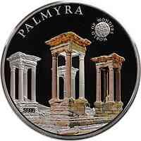 Palau Islands : 5 Dollar Welt der Wunder - Palmyra, farbig  2012 PP