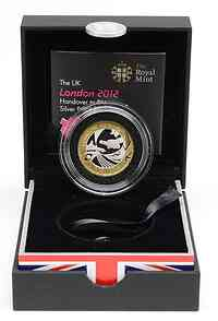 Großbritannien : 2 Pfund Olympiade London- Rio de Janeiro 2016, vergoldet  2012 PP