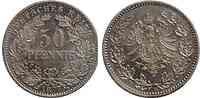 Deutschland : 50 Pfennig   1877 vz/Stgl.