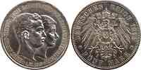 Deutschland : 5 Mark Ernst August Randunebenheiten 1915 vz/Stgl.