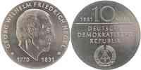 DDR : 10 Mark G. W. Friedrich Hegel  1981 Stgl.