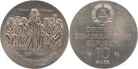 DDR : 10 Mark Richard Wagner  1983 Stgl.