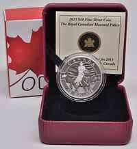 Kanada : 10 Dollar O Canada - Royal Canadian Mounted Police - im Etui  2013 PP